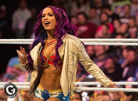 Sasha Banks Makes Mysterious Appearance In