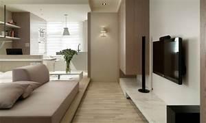 Farbe Taupe Kombinieren : 140 bilder einzimmerwohnung einrichten ~ Markanthonyermac.com Haus und Dekorationen