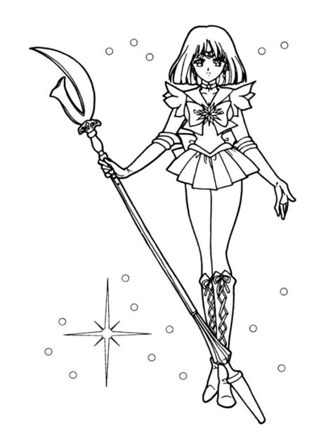 coloring pages sailor moon coloring home