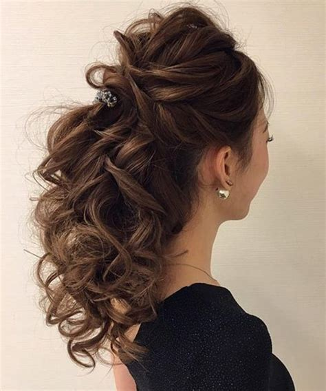 lovely homecoming hairstyles