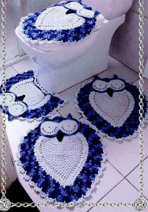 crochet owl bath sets 17 best images about crochet on free pattern