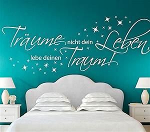 Wandtattoo Bad Günstig : wandtattoo lebe deinen traum tr ume nicht dein leben ~ Markanthonyermac.com Haus und Dekorationen