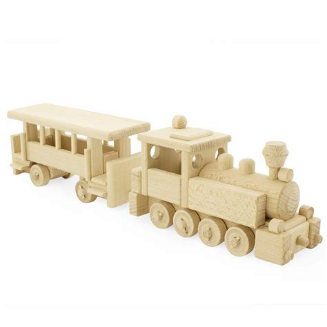 wooden toy steam train keepsake toys gifts happy