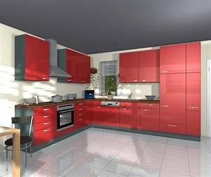 Küche Rot Hochglanz : nobilia glanz k chen gloss rot hochglanz l k che k chen pinterest k che l k chen und ~ Yasmunasinghe.com Haus und Dekorationen