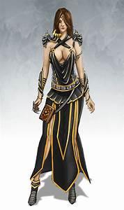Female elf wizard of Fion Necromantic Guild by Igor ...