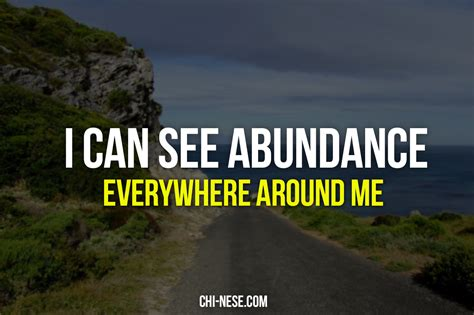 powerful abundance affirmations images