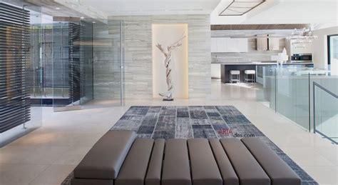 contemporary open plan marble driftwood sculpture