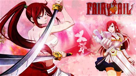 erza scarlet fairy tail wallpaper