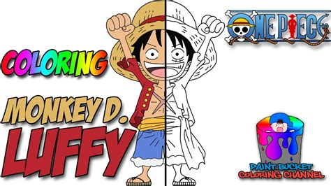 One Piece Anime Coloring Page
