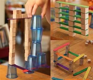 Haus Bauen Spiele : bauen mit kindern unterschiedliche bausteine einsetzen ~ Lizthompson.info Haus und Dekorationen