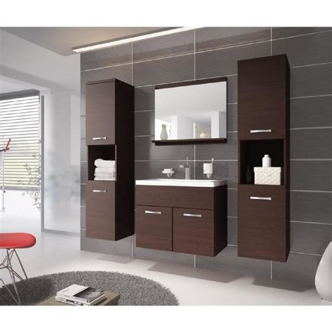 meuble de salle de bain avec meuble de cuisine meuble salle de bain wenge achat vente meuble salle de