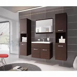 meuble salle de bain wenge achat vente meuble salle de With les meubles de salle de bain