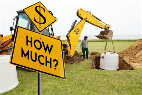 septic system cost budgeting   install care
