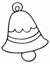 Bell Coloring Pages sketch template