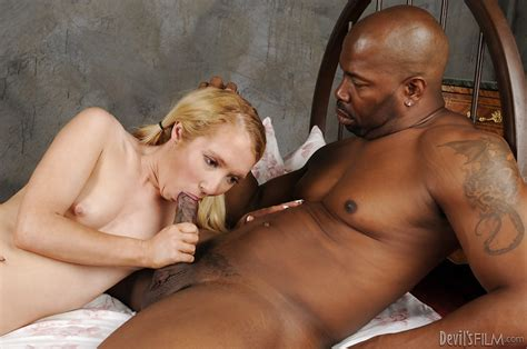 awesome interracial hardcore sex with beautiful blonde nicki blue
