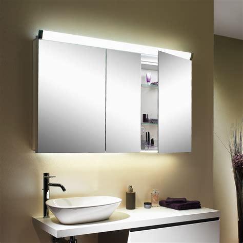 spiegelschrank mit schiebetür schneider paliline spiegelschrank mit 3 t 252 ren mit beleuchtung 159 150 02 50 reuter onlineshop