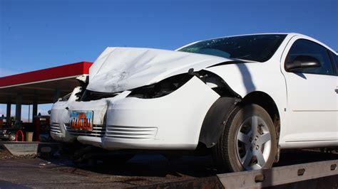 head  collision sends woman  hospital st george news