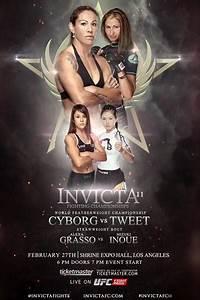 Invicta FC 11 - Cyborg vs. Tweet Fight Card Results
