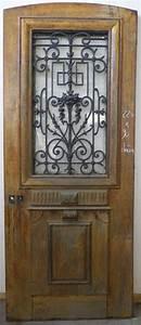 Grille Porte D Entrée : e1va14 porte d 39 entree un vantail en chene ~ Melissatoandfro.com Idées de Décoration