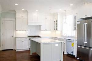 Loving the white kitchen tiek built homes cabinets is bm for Kitchen colors with white cabinets with healing stickers