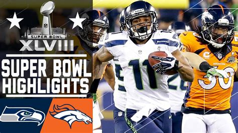 super bowl xlviii seahawks  broncos highlights youtube