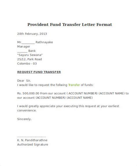sample insurance transfer letter