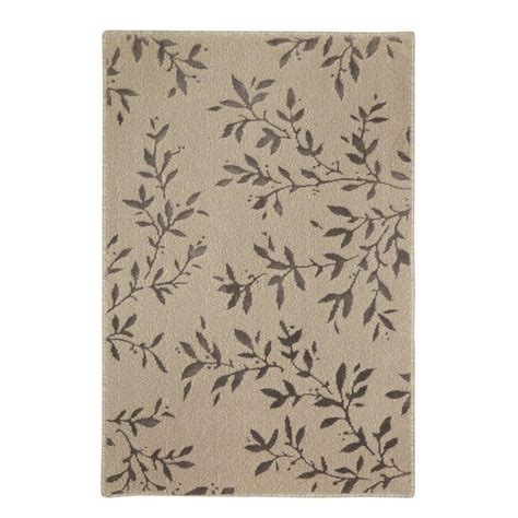 What Is A Viscose Rug by Mohawk Home Samantha Beige 2 Ft X 3 Ft Accent Rug 510688