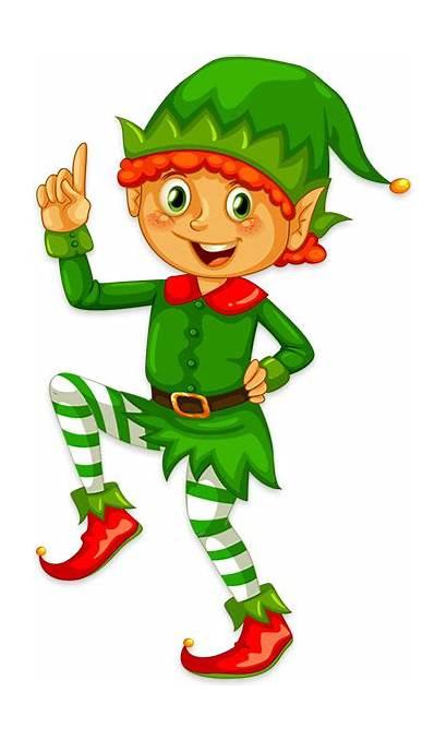 Elf Clipart Happy Elves Bells Clipground