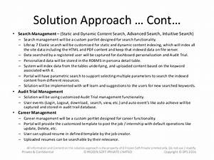 document management system using liferay 7 With solution approach document template