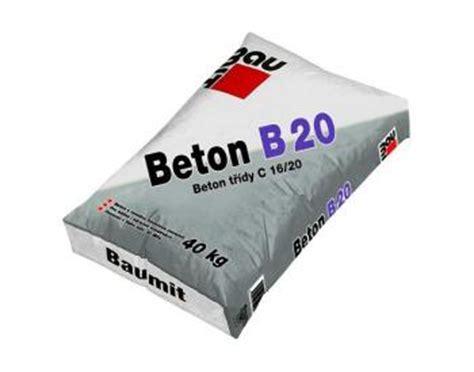 beton 40 kg baumit beton b 20 40 kg eshop