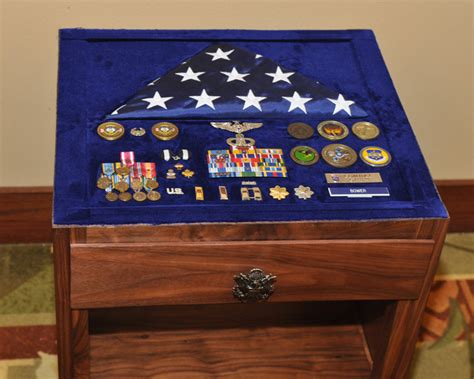 Military Shadow Box Table Part Ii By Woody1492