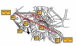 1998 Lexus Ls 400- Serpentince Drive Belt Replacement