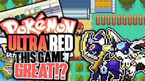 ultra forms finished rom hack pokemon ultra red