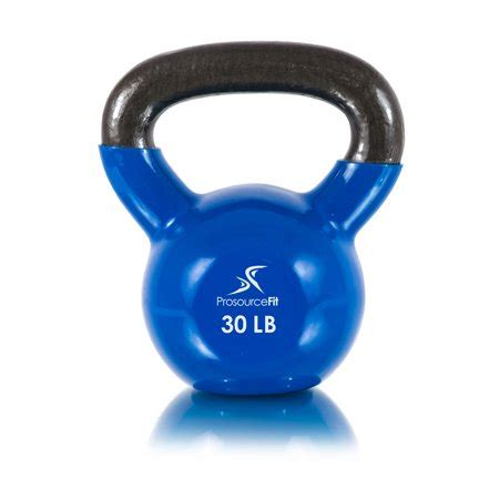 prosourcefit kettlebells extra body workouts coded coated handles vinyl iron fitness cast 45lbs 5lbs