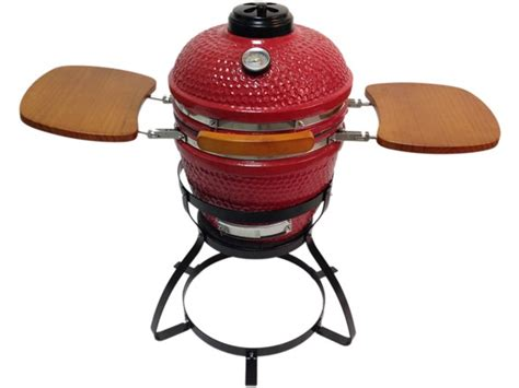 Beacon Ceramic Grill With Stand, Red Or Black