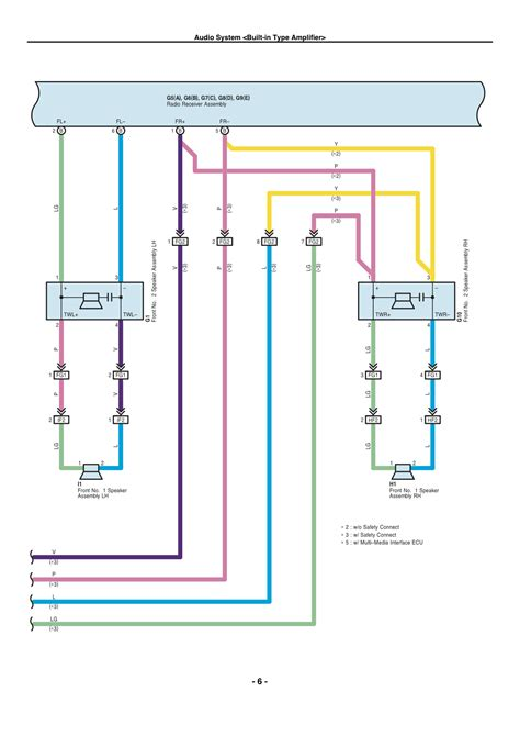 Wire Diagram 98 Toyotum 4runner by Speaker Wire Colors Toyota 4runner Forum Largest