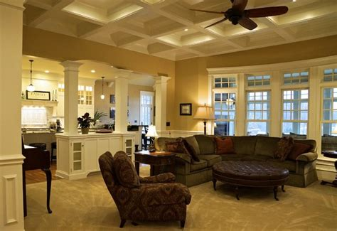 interiors traditional family room chicago  ed