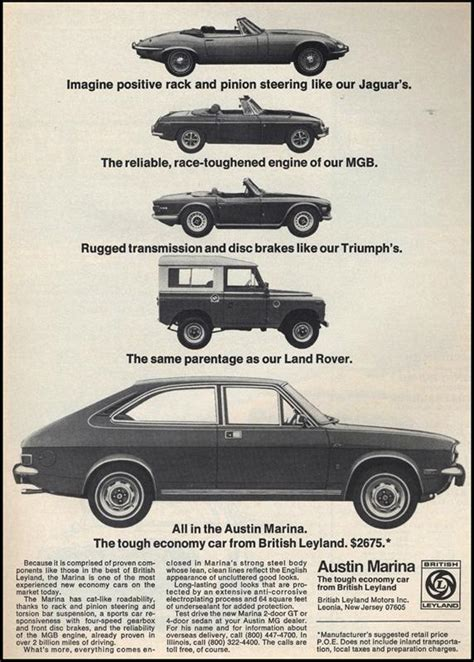 Austin Marina The Tough Economy Car From British Leyland ...