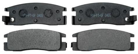 brake pads organic ceramic  semi metallic