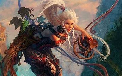 Fantasy Elf Female Elves Wallpapers Code Dekstop