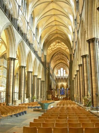 Cathedral Salisbury Inside Outside London