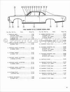 1966 Pontiac Body Molding And Clips Parts Catalog Reprint