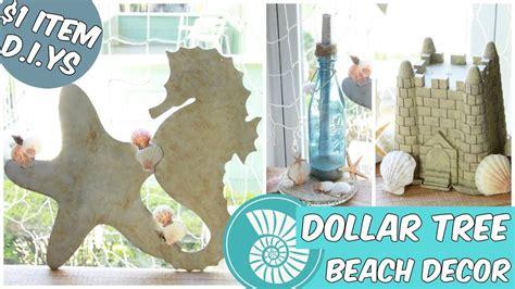 D I Y Home Decor : Dollar Tree Beach Home Decor Easy D.i.y Tutorial