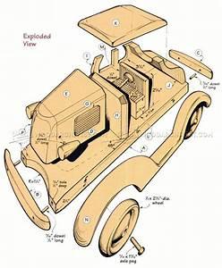 Wooden Deuce Coupe Plan • WoodArchivist