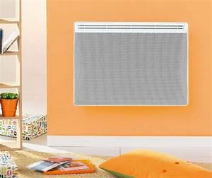 Radiateur Electrique Rayonnant : chauffage climatisation radiateur electrique radiant ou ~ Nature-et-papiers.com Idées de Décoration
