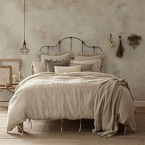 Wamsutta® Vintage Linen Duvet Cover  Bed Bath & Beyond
