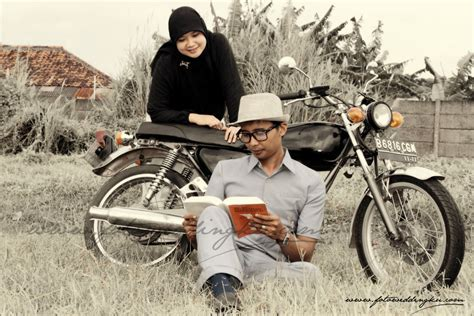 foto prewedding muslim simple fotoweddingku