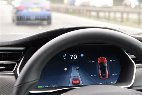 Tesla Autopilot self-driving tech tested in the UK ...