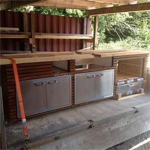 Küchen Selber Bauen : outdoor k che selber bauen holz von au enk che selber ~ Watch28wear.com Haus und Dekorationen
