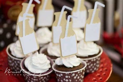 karas party ideas milk  cookies birthday party
